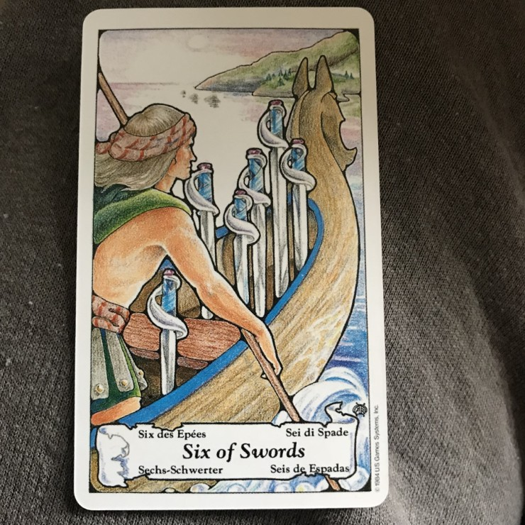 healing waters tarot